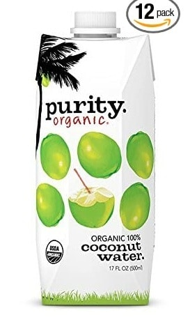 purity organic coconut and nursing