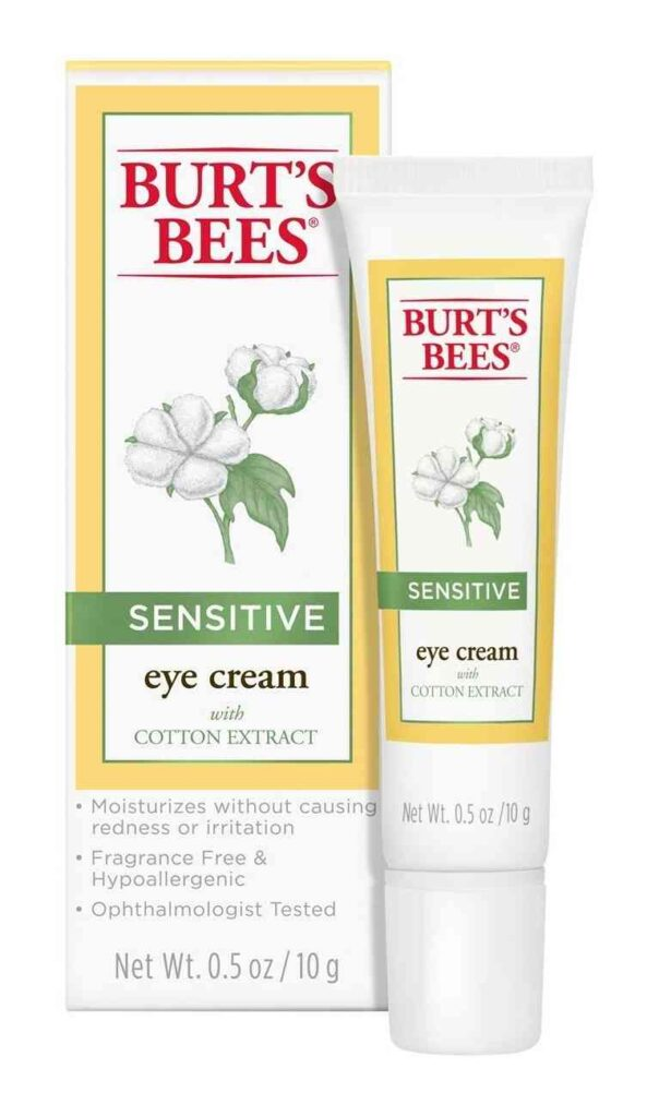 Burt's Bee eye cream