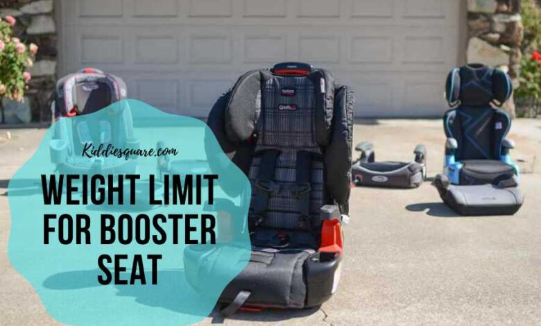 weight limit for booster seat