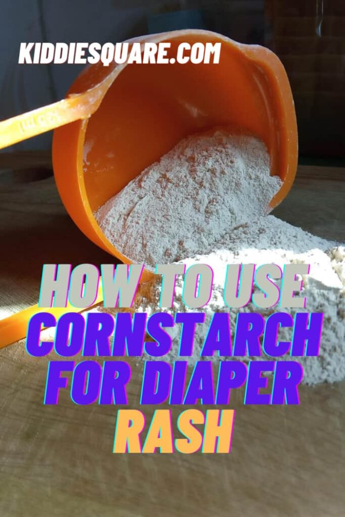 how to use cornstarch for Diaper rash
