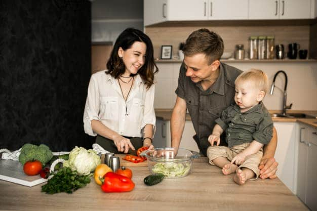 healthy diet for mom and baby
