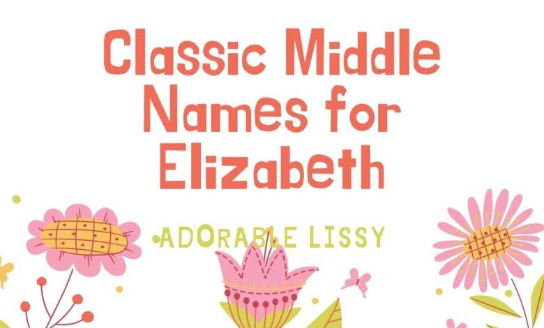 middle names for Elizabeth