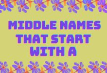 Photo of 200+ Super Cool Middle Names that Start with A