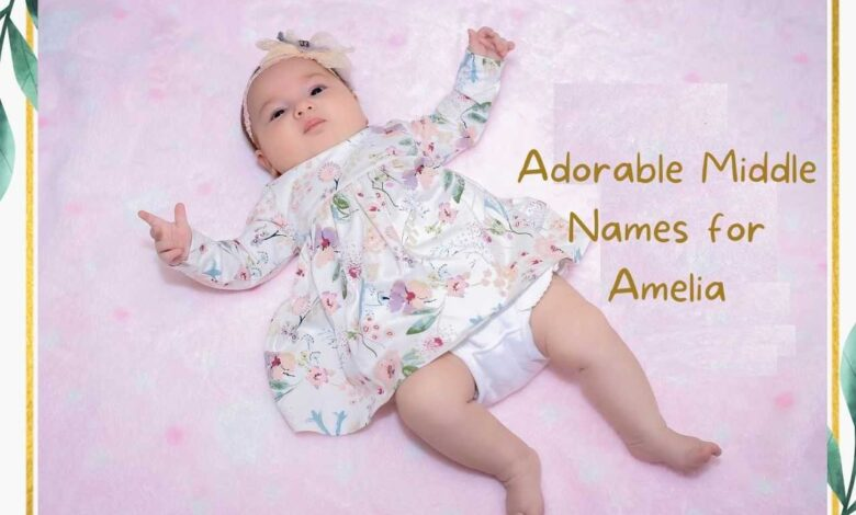 middle names for Amelia