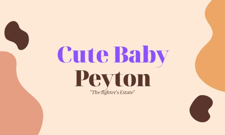 middle names for peyton