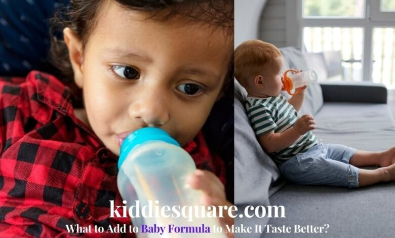 what to add to baby formula to make it taste better