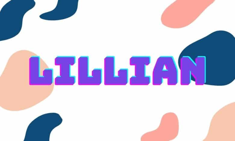 middle names for lillian