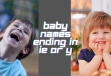 Photo of 600 Stunning Baby Names Ending in IE or Y
