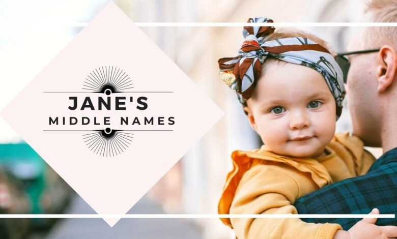 middle names for Jane
