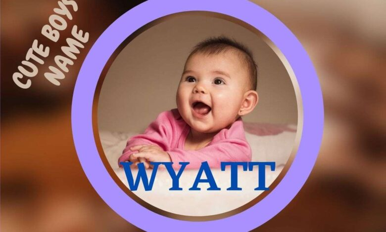 middle names for wyatt