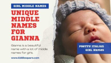 Photo of 120 Middle Names for Gianna
