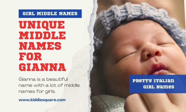 middle names for Gianna
