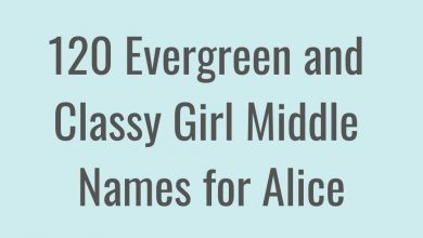 Photo of Middle Names for Alice