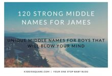 Photo of 120 Strong Middle Names for James