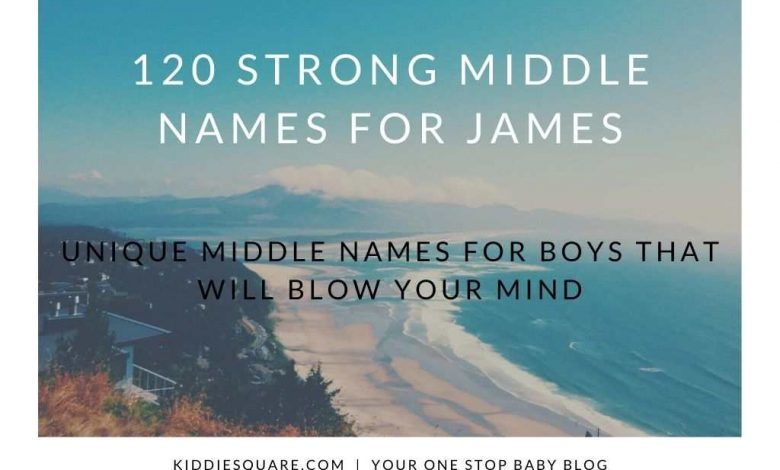 middle names for James