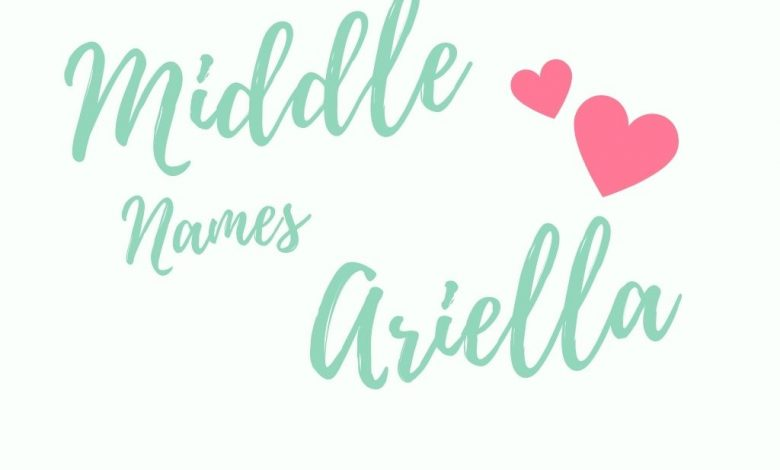middle names for ariella