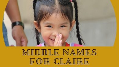 Photo of 120 Classic Middle Names for Claire