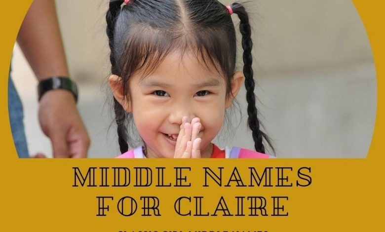 middle names for Claire