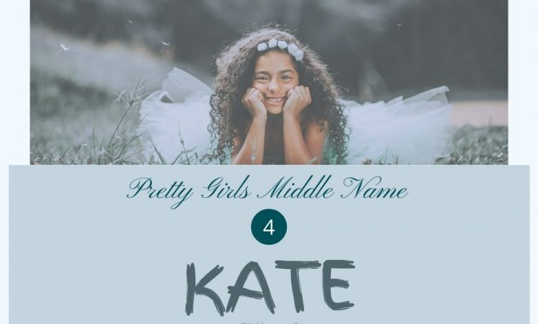 middle names for kate