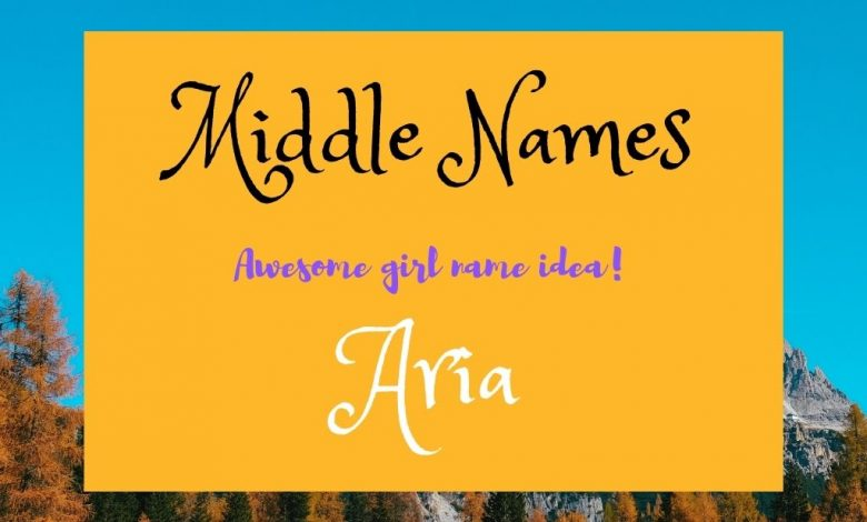 middle names for Aria