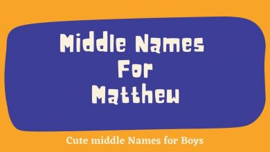 Photo of 140 Popular Middle Names for Matthew