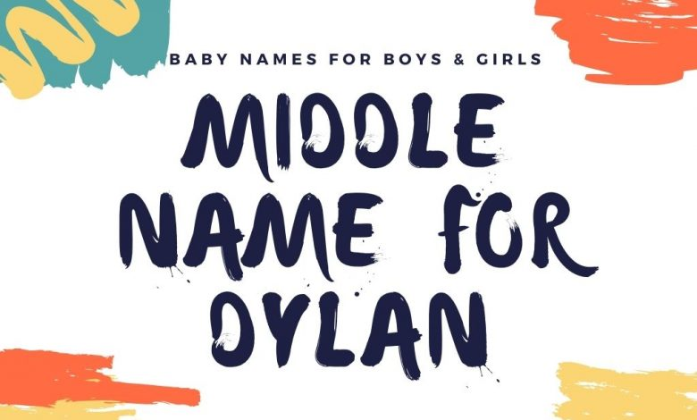 middle names for dylan