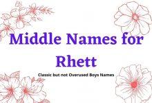 Photo of The Best 151 Middle Names for Rhett