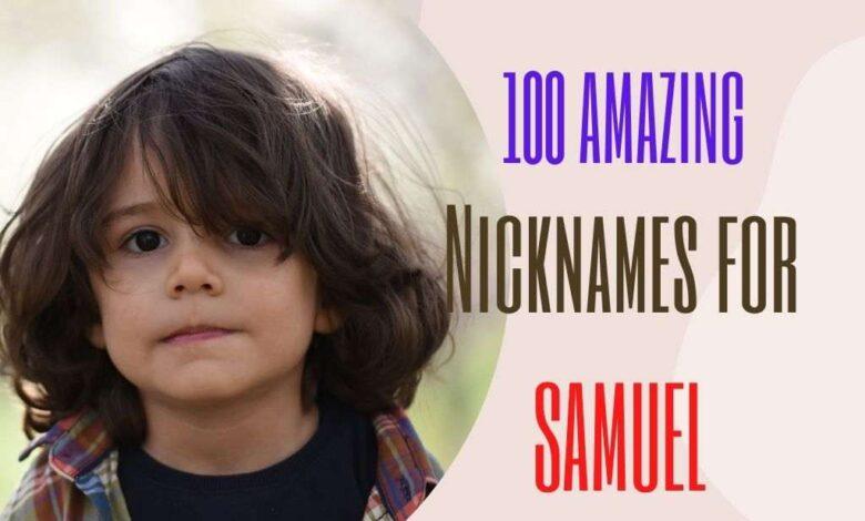 Nicknames for Samuel