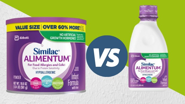 Alimentum powder vs Ready to feed