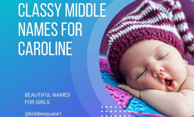 middle names for Caroline